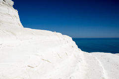 White Cliffs at Scala dei Turchi Stock Photo