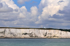 White cliffs from the sea Royalty Free Stock Images