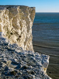 White Cliffs at Seaford Head Stock Photography