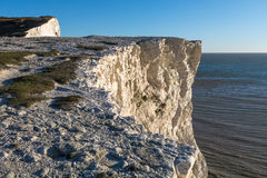 White Cliffs at Seaford Head Stock Images