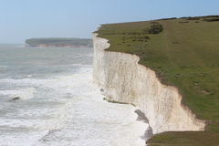 White cliffs at Seven Sister Royalty Free Stock Photos