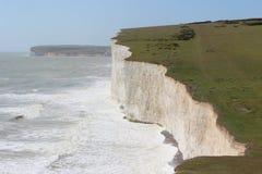 White cliffs at Seven Sister Royalty Free Stock Photos