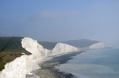 The white cliffs of south England Stock Images