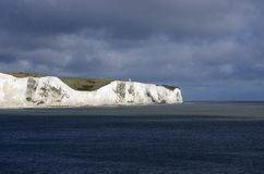 The white cliffs of south England. A photo of the white cliffs of south England Stock Images