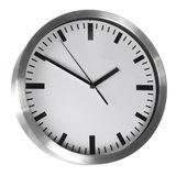 White clock Royalty Free Stock Photography