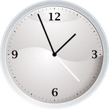 White clock Royalty Free Stock Images