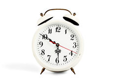 White clock Stock Photography