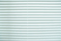 White closed blinds. Stock Photos