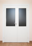 White Closed Door Stock Images