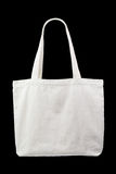 White cloth bag Stock Images