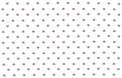 White cloth with grey hearts pattern, background Royalty Free Stock Photo