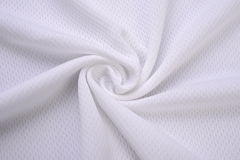 White cloth made by cotton fiber Royalty Free Stock Photo