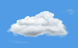 White Cloud Stock Image