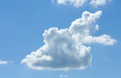 White cloud. In the sky Stock Photos