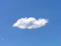 White Cloud Blue Sky Stock Image