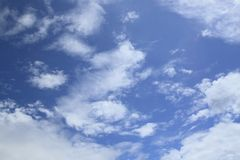 White cloud and blue sky Royalty Free Stock Image