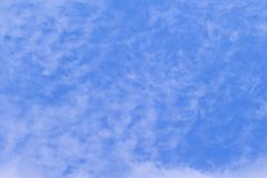 It is White cloud and blue sky Royalty Free Stock Photography