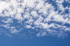 White cloud on blue sky. Background Stock Photos
