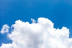 White cloud on blue sky Royalty Free Stock Photos