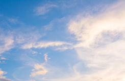 white cloud and blue sky background image royalty free stock photos