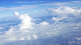 White Cloud and blue sky Stock Photography