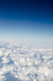 White cloud with blue sky Stock Photography