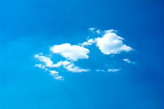 White cloud and bluesky Royalty Free Stock Photography