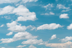 White cloud with bue sky. Blue sky and white cloud royalty free stock photo