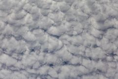 White Cloud Formation Summer Sky Royalty Free Stock Photography