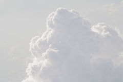 White cloud. Large white cloud seen from above Stock Image