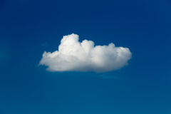 White cloud Royalty Free Stock Photo