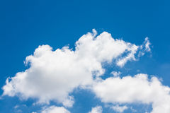 The white cloud Stock Images