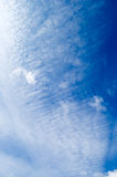 The white clouds. stock photos