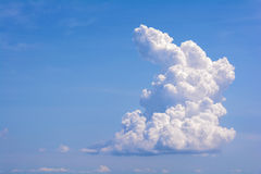 White clouds. Stock Photo