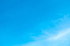 White clouds against blue sky. Soft white clouds against blue sky Stock Images