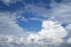 White clouds. Royalty Free Stock Images