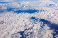 White clouds background with copy space for your text message or promotional content Royalty Free Stock Photography