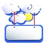 White clouds Royalty Free Stock Photo
