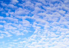 White clouds on blue sky. Royalty Free Stock Photos