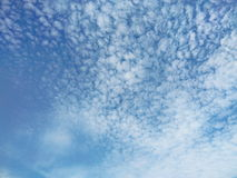 White clouds and blue sky Stock Photography