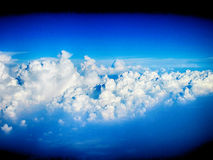 white clouds on the blue sky Royalty Free Stock Images