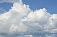 White clouds Stock Photos