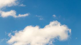 White Clouds is Floating in the Blue Sky royalty free stock photo