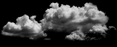 White clouds over blue Royalty Free Stock Photography