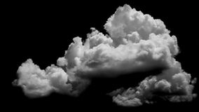 White clouds over blue Stock Images