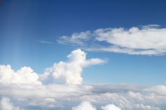 White clouds and sky Royalty Free Stock Photo