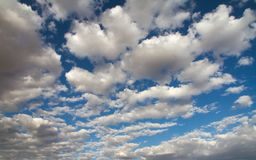 White clouds sky Royalty Free Stock Images