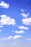 White clouds in the sky Royalty Free Stock Images