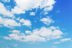 White clouds in the sky Royalty Free Stock Photos