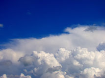 White Clouds and Sky Royalty Free Stock Images